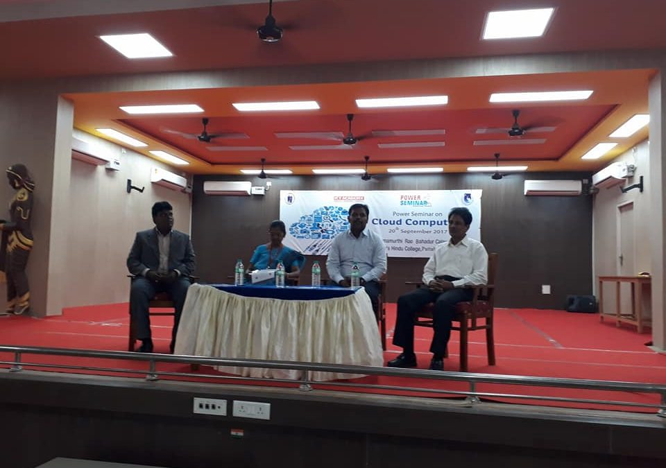 Power Seminar on Cloud Computing